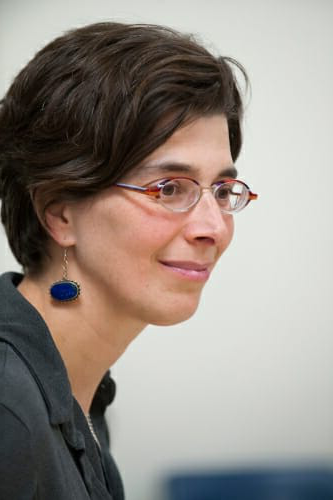 Profile portrait of Jenny Saffran